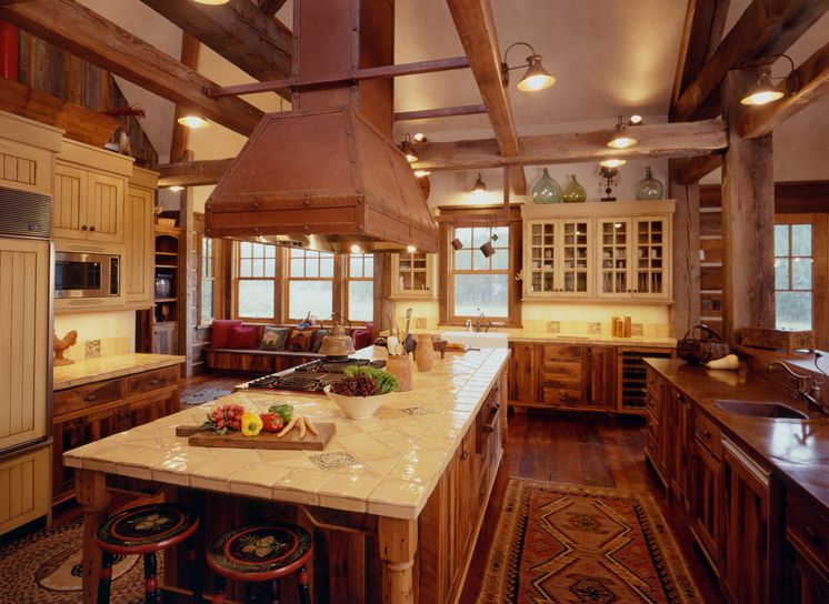 Ranch style kitchen design