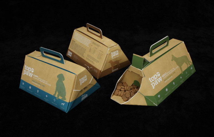 innovative packaging dog food