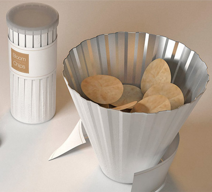 innovative packaging pringles tube