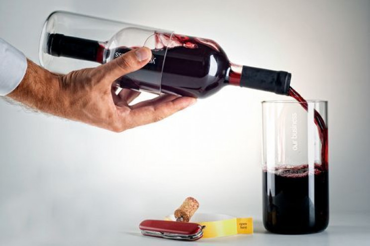 innovative packaging wine bottle