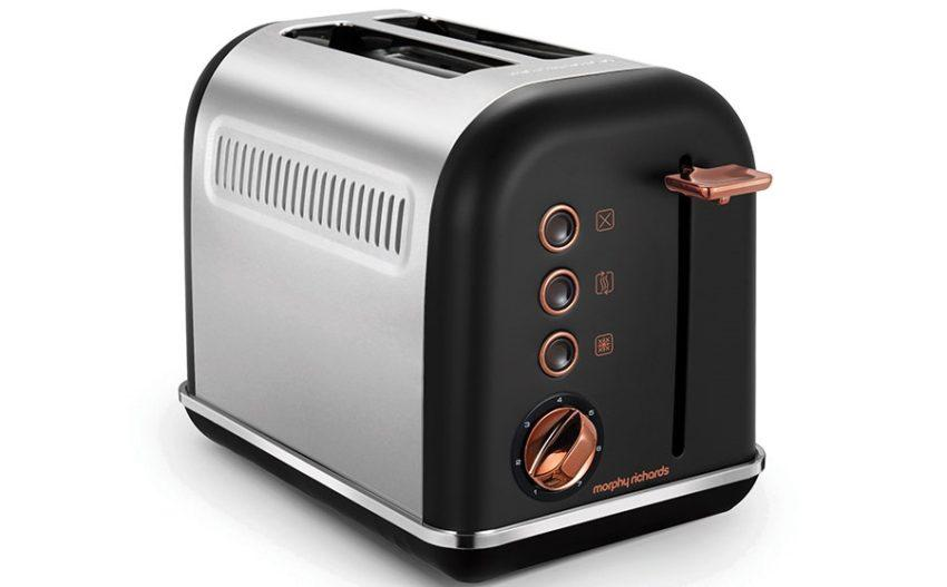Тостер Morphy Richards Accents Rose Gold 222016/222017 фото